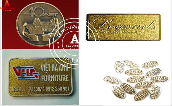 Làm mác đồng – In nhãn mác giá rẻ, theo yêu cầu tại Hà Nội