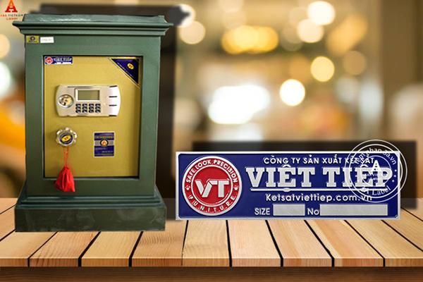 In ấn tem nhôm xước cho két sắt giá rẻ, uy tín tại Hà Nội
