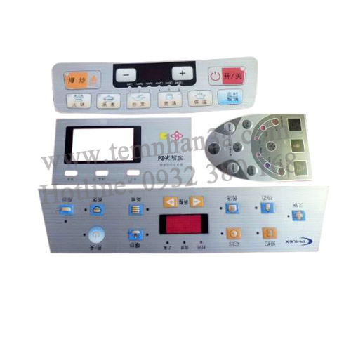 Những ưu điểm nổi bật của tem nhựa phím nổi điều khiển