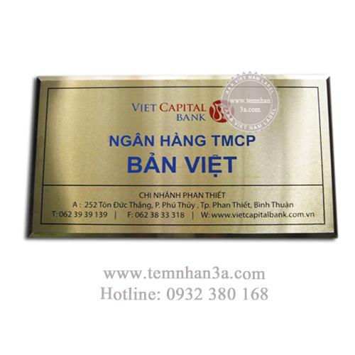 Nơi in tem inox giá rẻ nhất Hà Nội