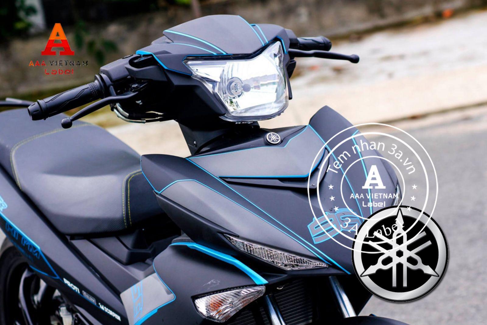 Tem nhôm xước và xe máy – cặp đôi hoàn hảo, tem cho xe máy giá rẻ